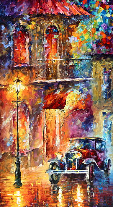 Thoughts Of My Ancestors  Print by Leonid Afremov
