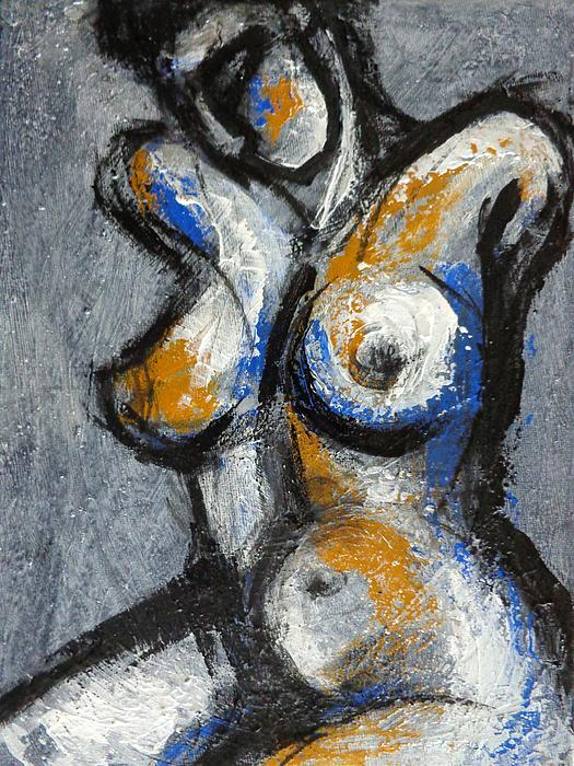 Carmen Tyrrell - Three Abstracted Beauties - The Third