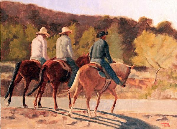 Three Amigos Print by Tate Hamilton