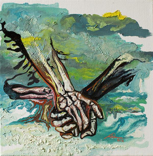 Through Storms Print by Joseph Demaree