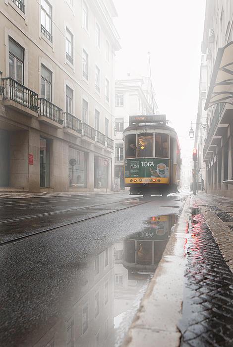 Through The Fog Print by Jorge Maia