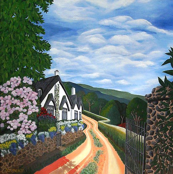 Denise Peat - Through the Garden Gate