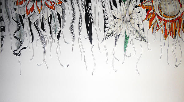 Through The Vines Print by Lori Thompson