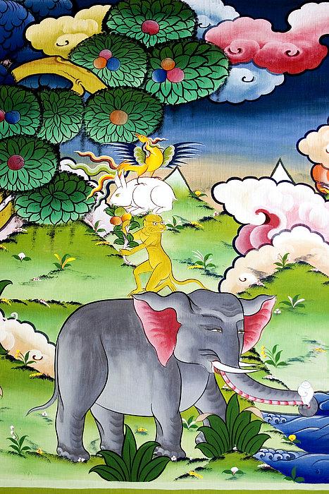 Thuenpa Puen Shi  Print by Fabrizio Troiani