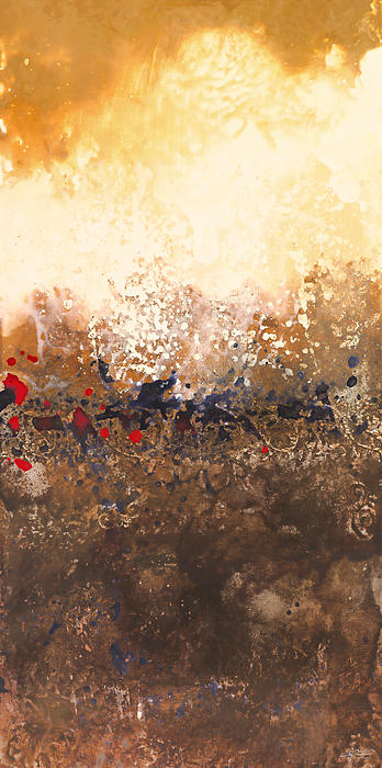 Tidal Sunrise Panel 2 Print by Craig Tinder