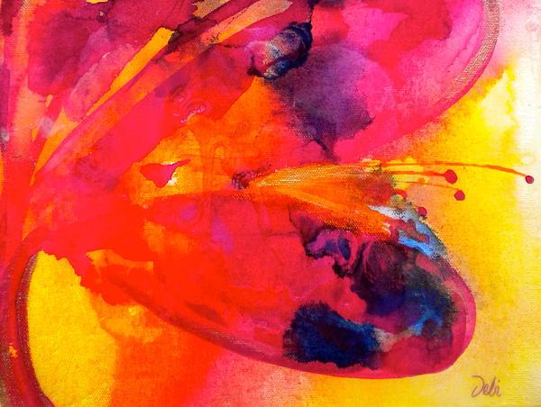 Tie Dye Wishes Print by Debi Starr