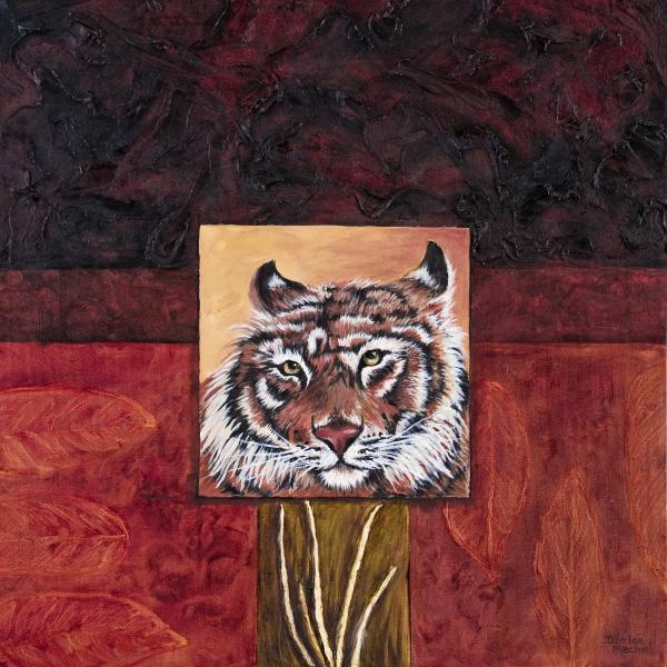 Tiger 2 Print by Darice Machel McGuire