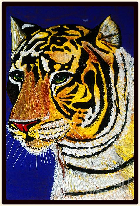 Tiger Print by Saundra Myles