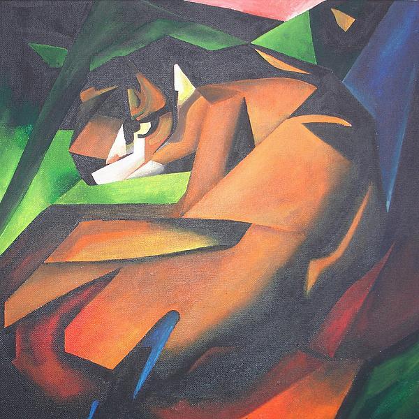 Tiger Print by Tracey Harrington-Simpson