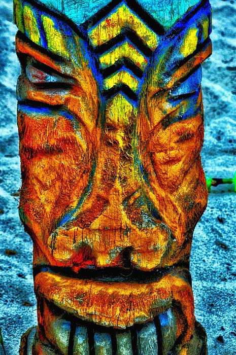 Tiki God Print by Todd and candice Dailey