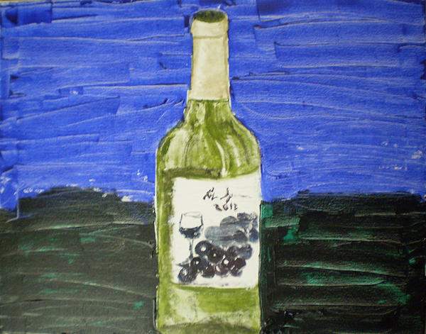 Time For More Wine Print by Rob Spencer