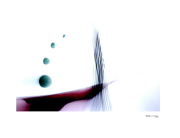 Time On A String 7 Print by Xoanxo Cespon