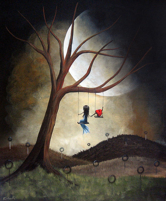 Time Together By Shawna Erback Print by Shawna Erback