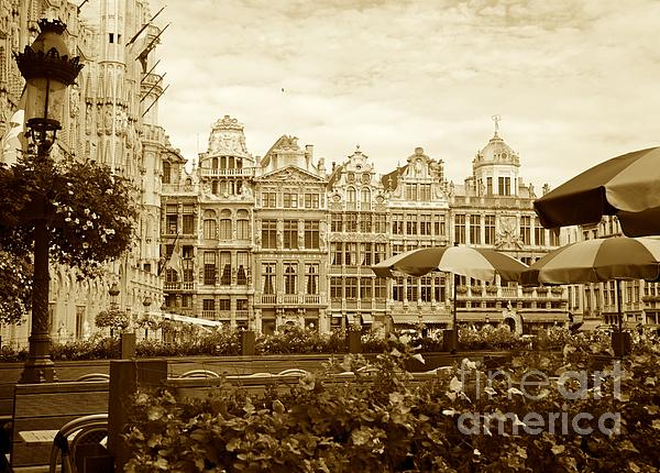 Timeless Grand Place Print by Carol Groenen