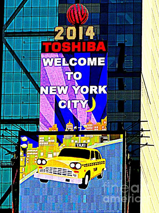 Times Square New Years Eve Ball Print by Ed Weidman