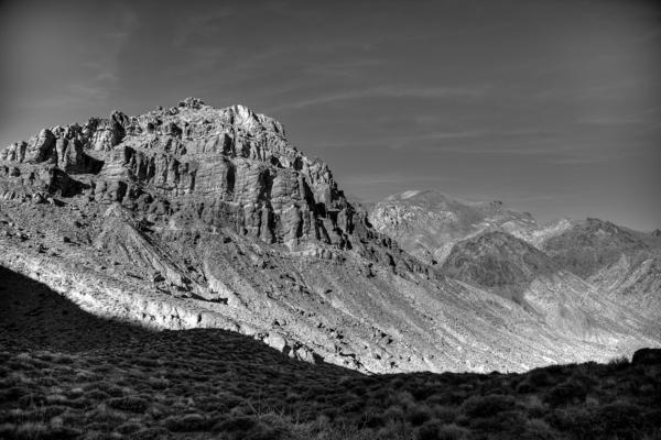 Titus Canyon Peak Print by Peter Tellone