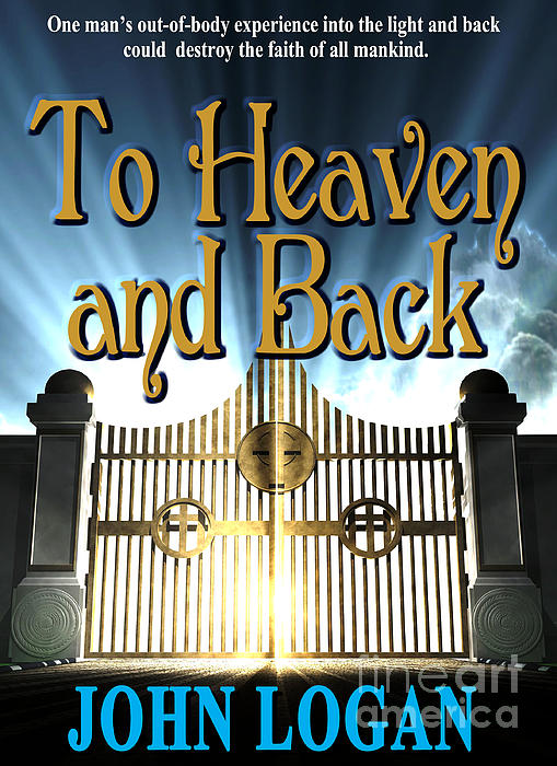 To Heaven And Back Book Cover Print by Mike Nellums