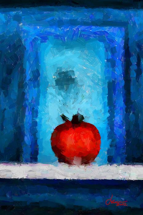 Tomato Tnm Print by Vincent DiNovici