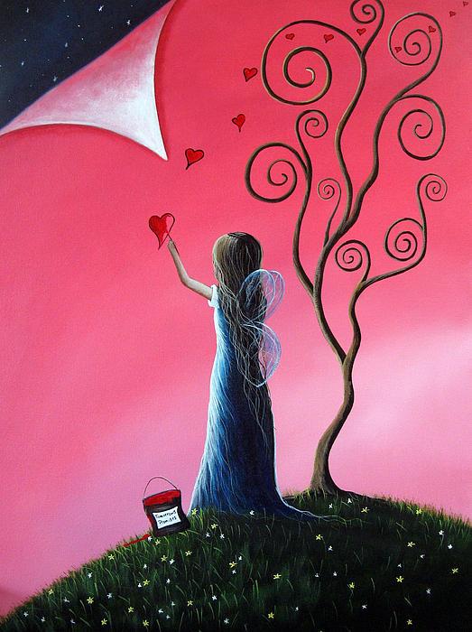 Tomorrow's Promises Are A Dream Away By Shawna Erback Print by Shawna Erback