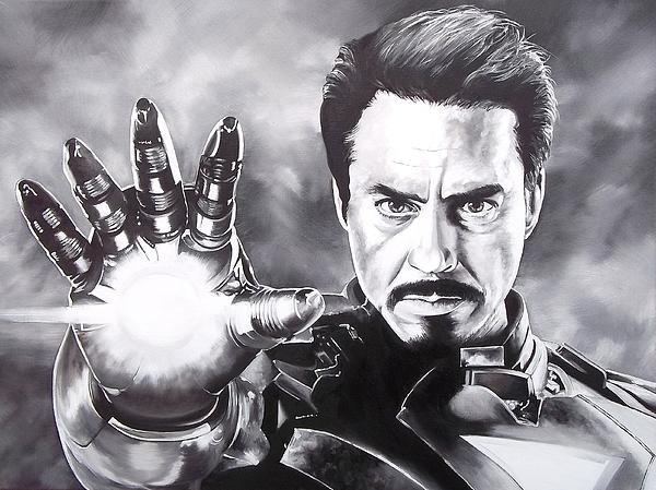 D A Nuhfer - Tony Stark - Iron Man