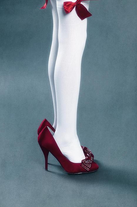 Too Big Shoes Print by Joana Kruse