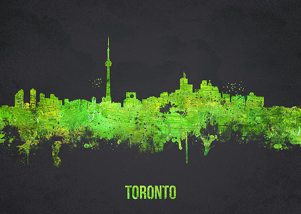 Toronto Canada Print by Aged Pixel