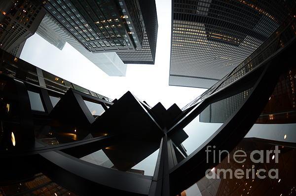 Toronto Financial District Print by Wayne  Cook