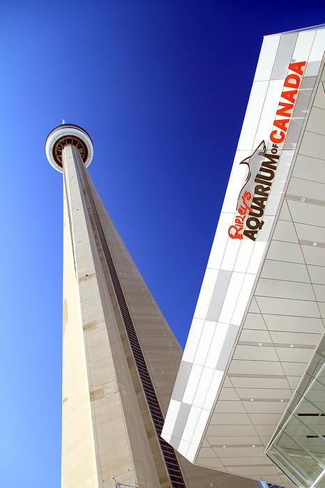 Toronto Landmarks Print by Valentino Visentini