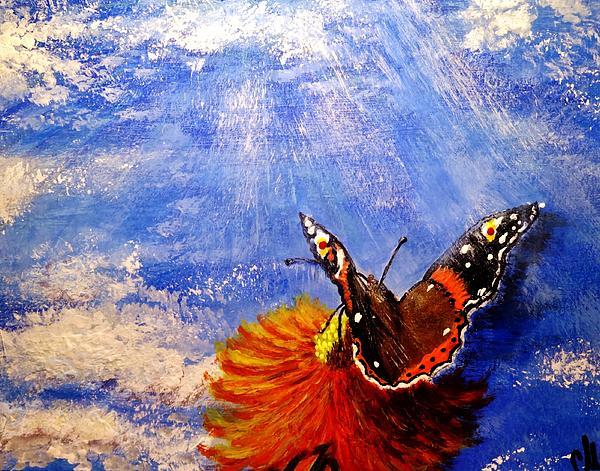 Cristina Mihailescu - Touching the sky..