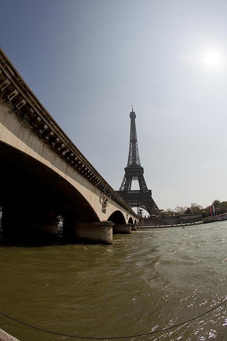 Tour Eiffel 1 Print by Art Ferrier