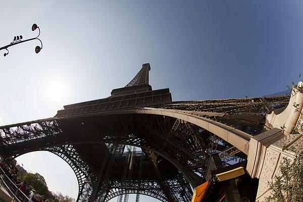 Tour Eiffel 5 Print by Art Ferrier