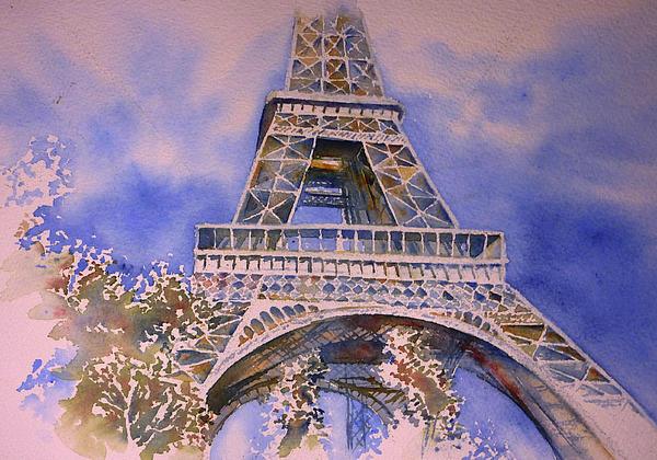 Tour Eiffel Print by Thomas Habermann