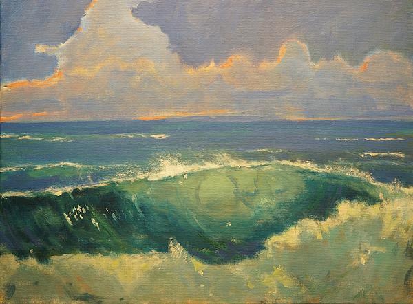 Tourmaline Surf Print by Jim Noel