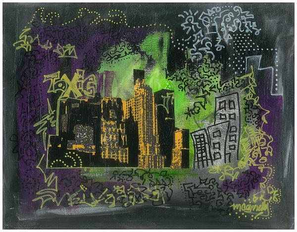 Toxic Print by Maggi Connelly