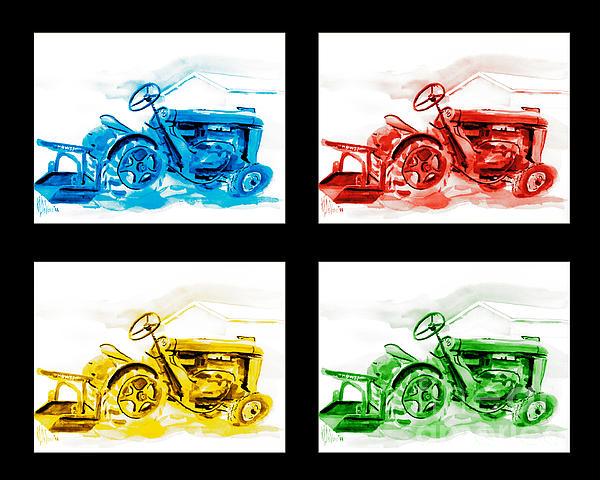 Tractor Mania Iv Print by Kip DeVore