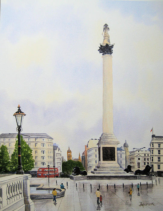 Diane Marcotte - Trafalgar Square London