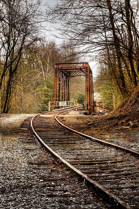 Train Memories Print by Debra and Dave Vanderlaan
