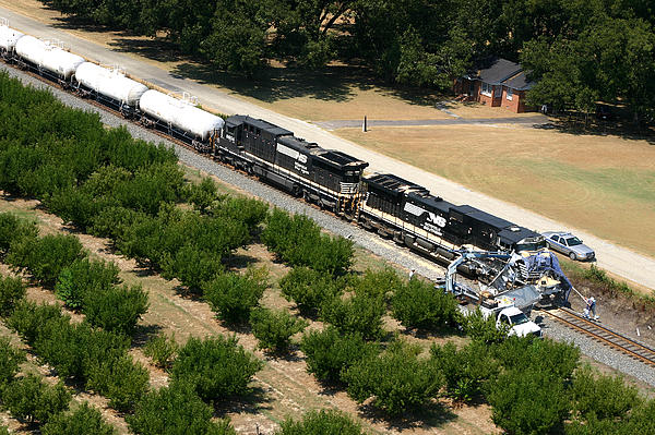 Joseph C Hinson Photography - Train Vs. Truck