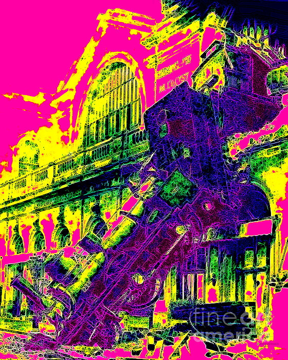 Train Wreck At Montparnasse Station 20130525 Print by Wingsdomain Art and Photography