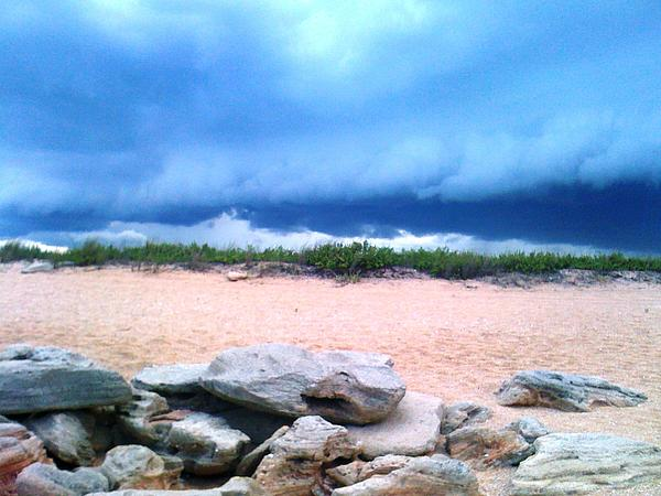 Tranquil Storm Print by Julie Wilcox