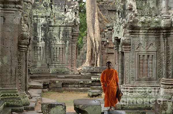 Bob Christopher - Tranquility In Angkor Wat Cambodia