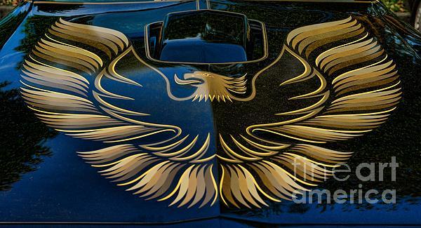 Trans Am Eagle Print by Paul Ward