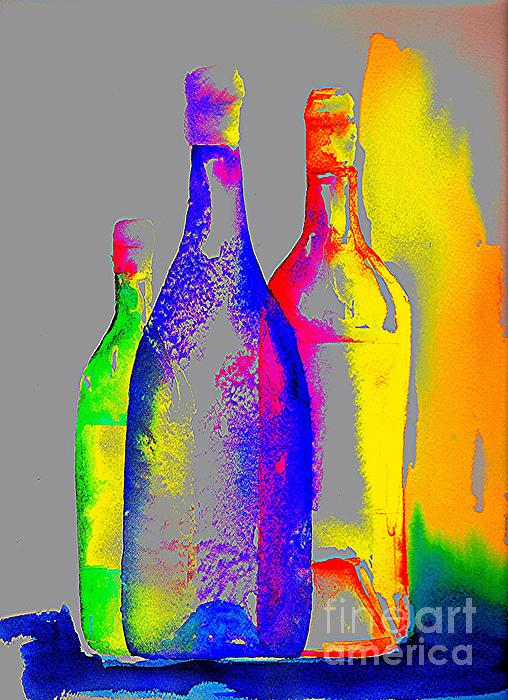 Joy Bradley - Transparent Bottles