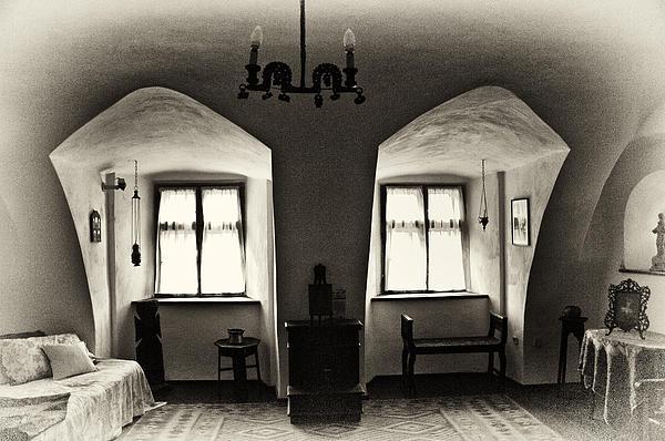 Transylvania Dracula's Castle Interior168 Print by Dorin Stef