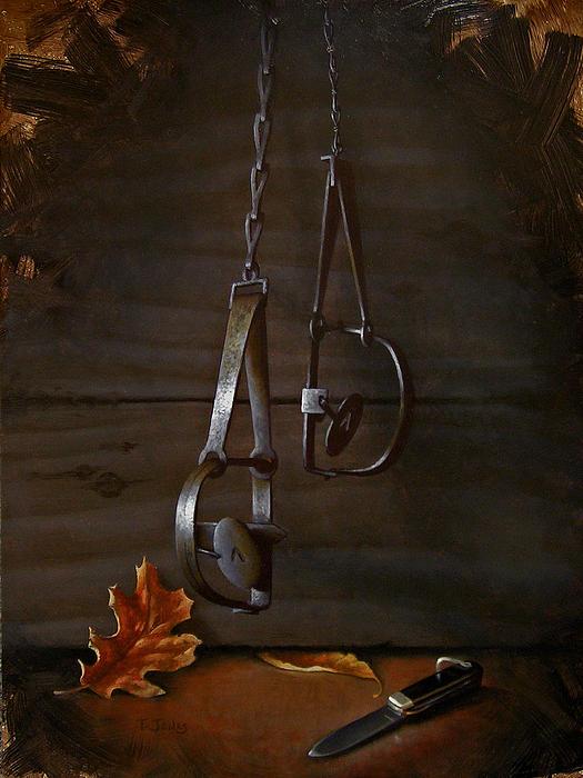 Traps Print by Timothy Jones