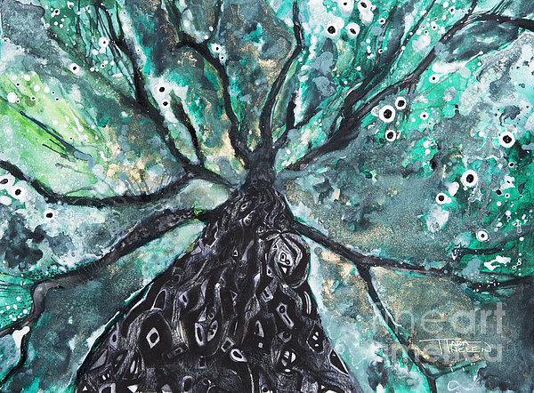 Tree Branches Above Print by Tara Thelen