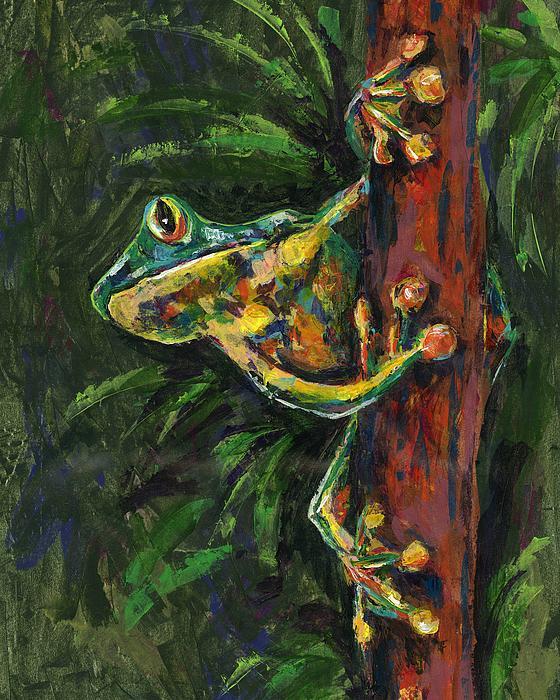 Tree Hugger Print by Lovejoy Creations