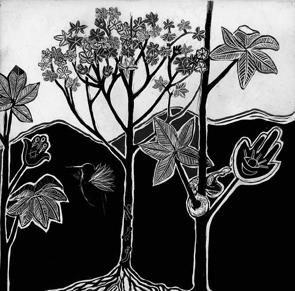 Tree Of Life Print by Aurora Levins Morales