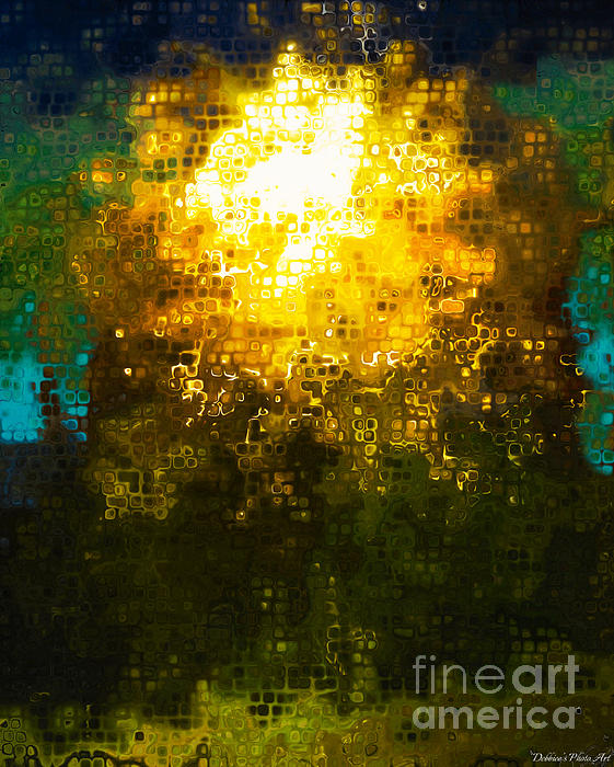 Debbie Portwood - Tree of Light Abstract