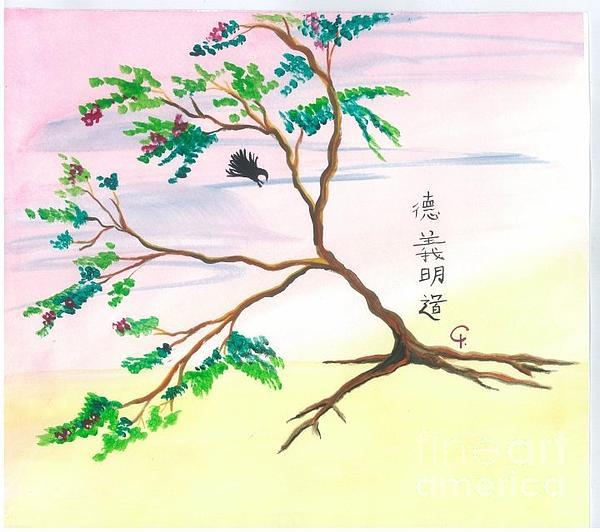 Tree Of Prosperity Print by Jeanel Walker